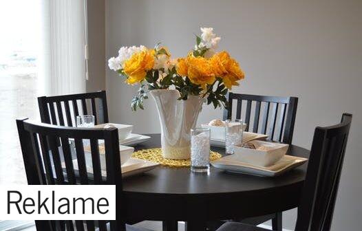 Spisebordsstole i mange forskellige varianter